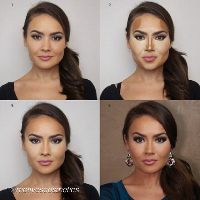 How to Contour a Square Face | Beauty Zone