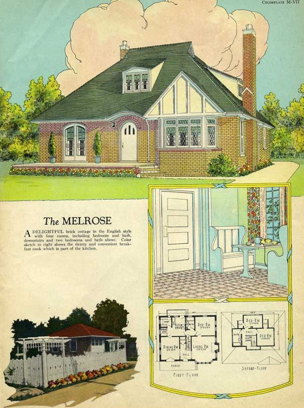 1017 best images about vintage house plans 1920s on