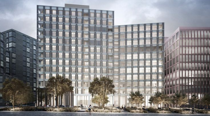 Planning Consent for Paired King's Cross Buildings