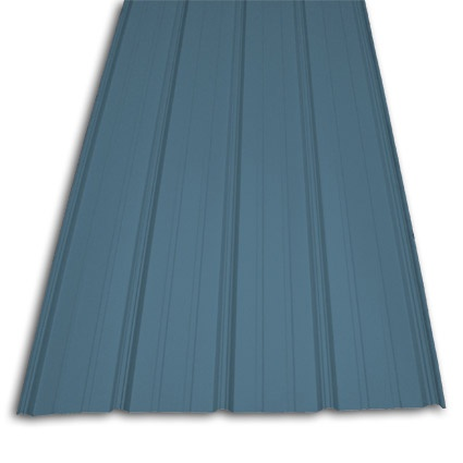 Best Great Blue Color For Accent Wall Steel Siding Steel Panels Metal Siding House 400 x 300