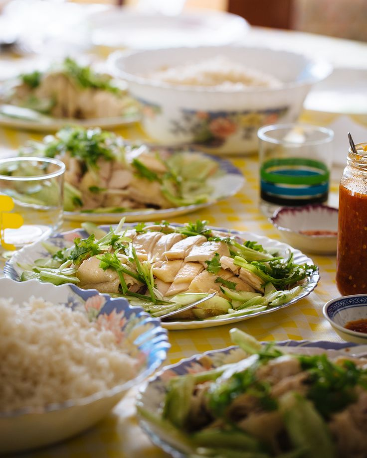 """""""Widely considered to be the national dish of Singapore, Hainanese chicken rice has played a significant part in Adam Liaw's upbringing."""" Adam Liaw, Destination Flavour Singapore"""