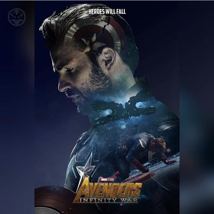 Gloomy Fall Wallpaper Infinity War Fanmade Character Posters Avengers Marvel