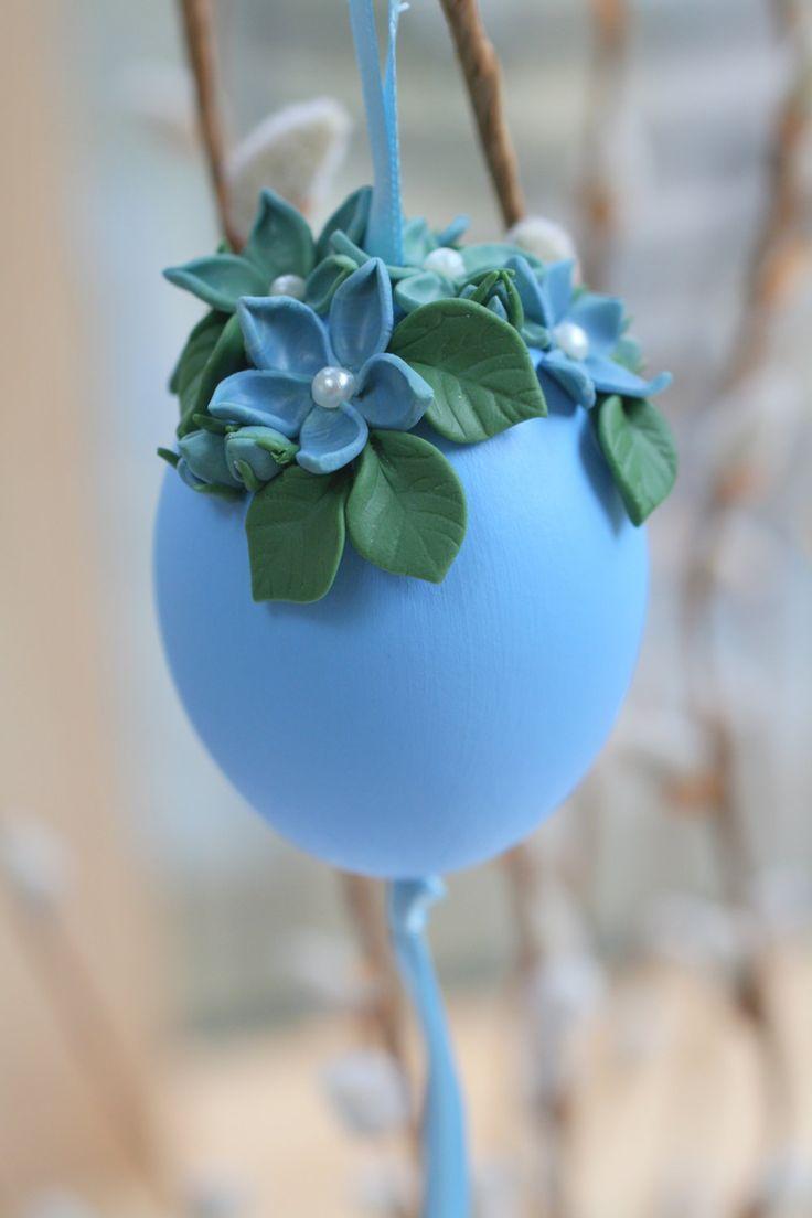Easter Eggs, Easter Tree Ornament, Egg Decorations, Easter Decorations, Easter Gift,  Egg On Top, Flower Decoration, Flower Bouquet by EggOnTop on Etsy