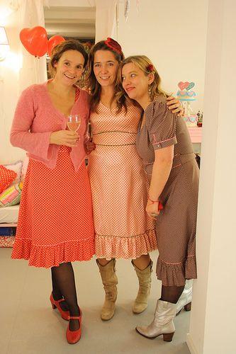 Jikke, Harre and Maaike of the sweetest shop 'Het is Liefde'