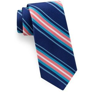 Men's Ted Baker London Vero Beach Stripe Silk Tie