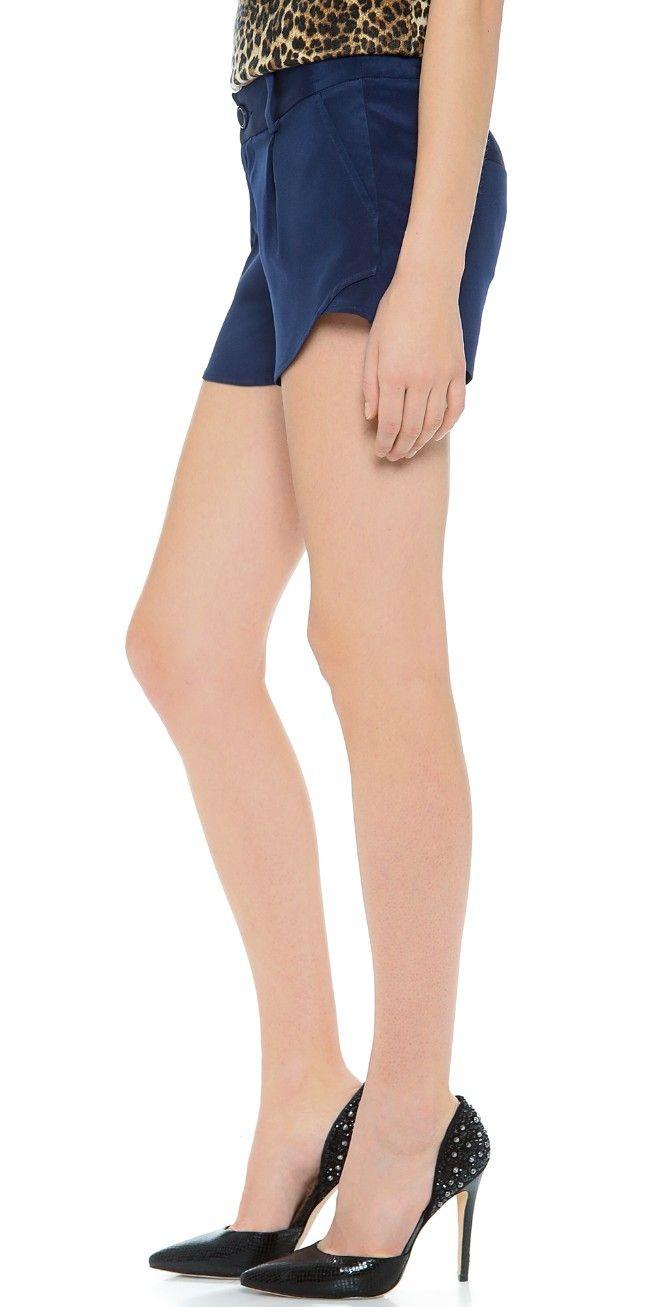 alice + olivia Butterfly Shorts | SHOPBOP