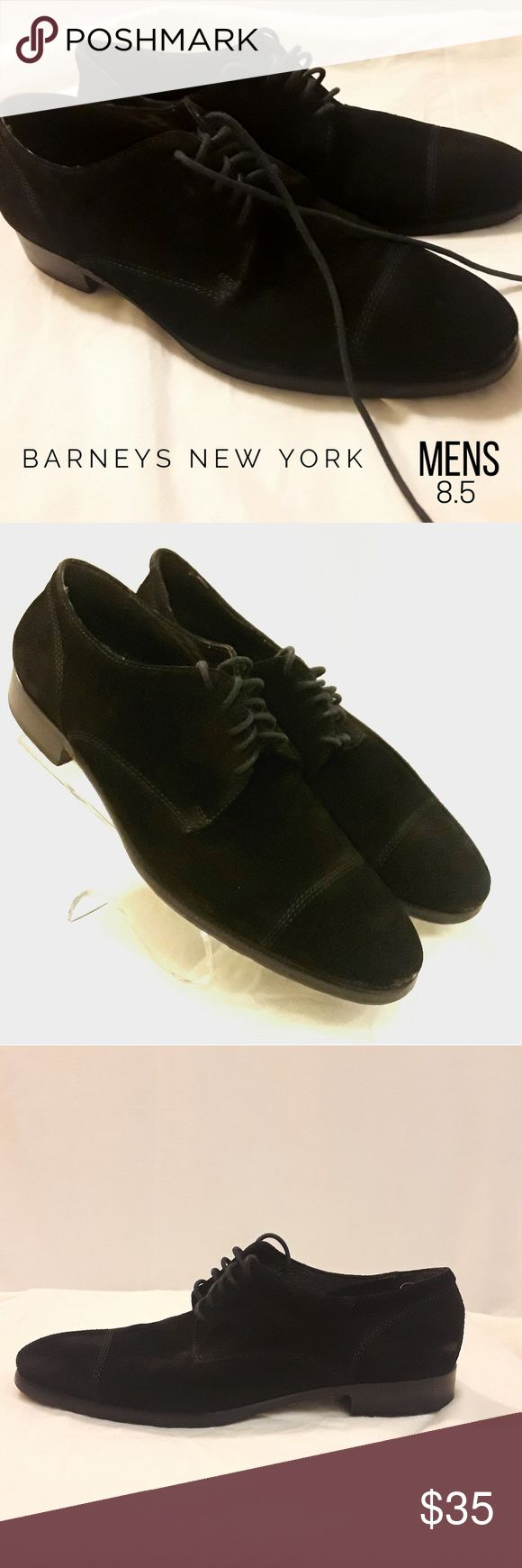 Barneys New York Suede Oxfords Genuine leather lace up oxford shoe for men by Barneys New York  100% AUTHENTIC - MADE IN ITALY  Barneys New York Co-op Distressed Suede Oxfords Suede Rubber sole Barneys New York CO-OP Shoes Oxfords & Derbys