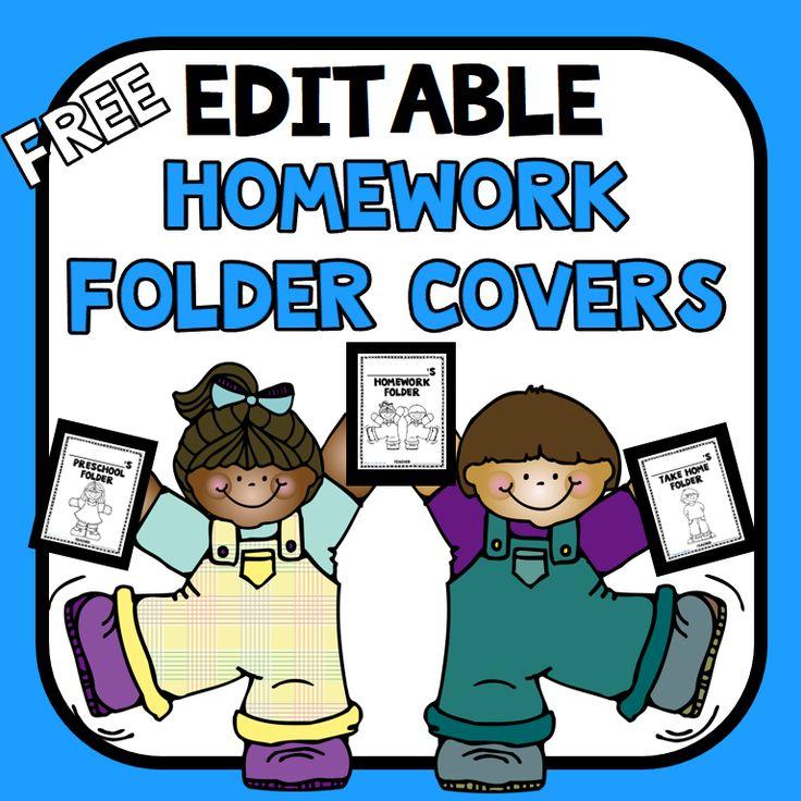 Homework Book Cover Ideas : Best homework folders ideas on pinterest