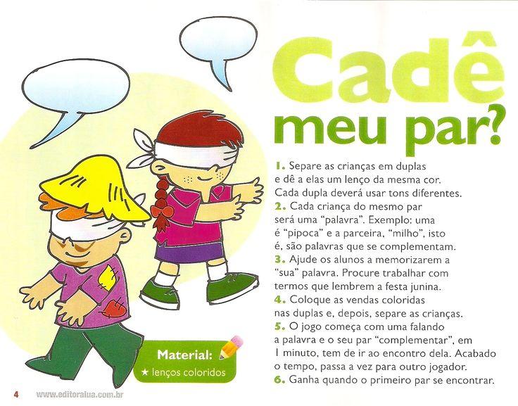 BRINCADEIRAS PARA FESTA JUNINA   Cantinho do Educador Infantil