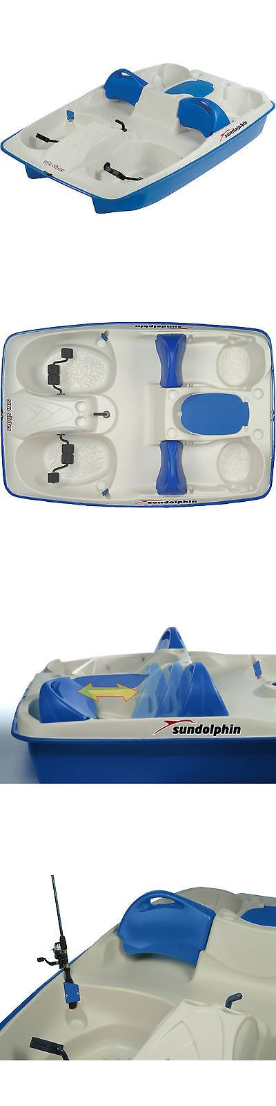 Other Kayak Canoe and Rafting 36123: Sun Dolphin Sun Slider 5 Seat Pedal Boat BUY IT NOW ONLY: $684.97