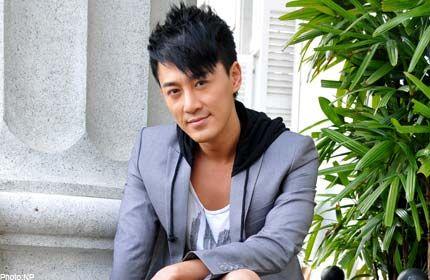Raymond Lam hoodie under sports coat