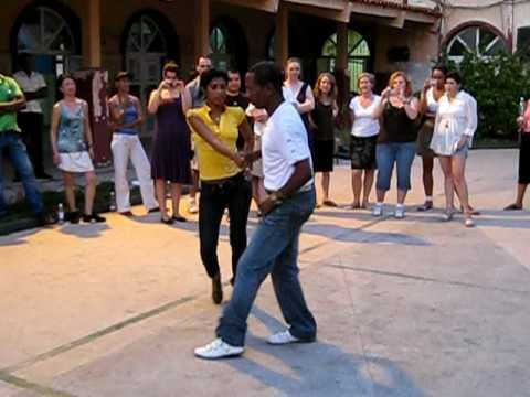 ▶ Salsa in Havana - YouTube. They are so fast and sharp with their arms and footwork.
