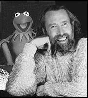 Jim Henson and Kermit the Frog  Love Jim Henson-What a dreamer,doer and philosopher!