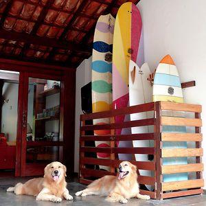 Surfboard rack for garage/storage room