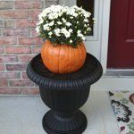 Halloween Decorating Ideas: 5 Fun Ways to Use Faux Pumpkins | Apartment Therapy