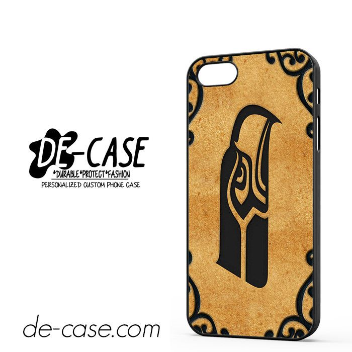 Seattle Seahawks Football NFL Brown DEAL-9456 Apple Phonecase Cover For Iphone SE Case