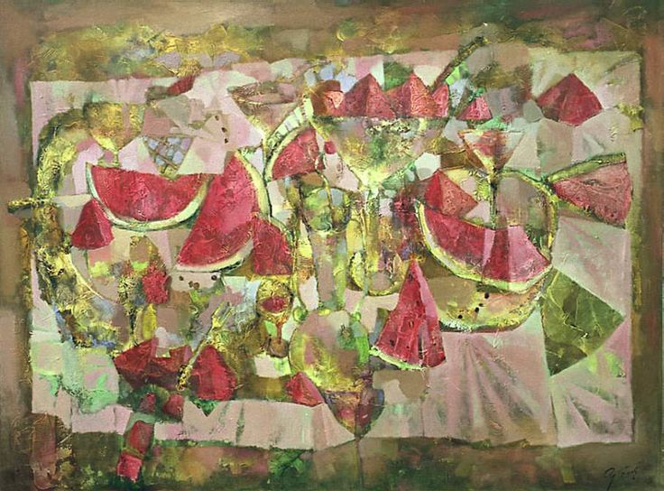 Натюрморт с арбузом Andrey Aranyshev - Still-life with Watermelon