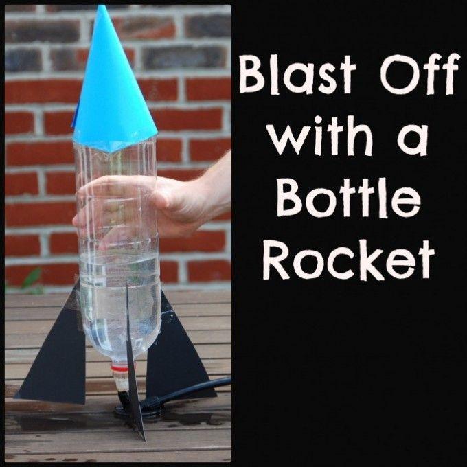 Hoe To Use A Hand Shaped Rocket Make Craft