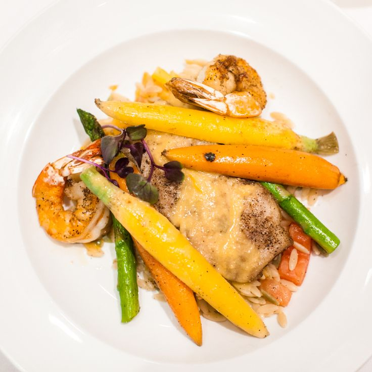 Don't skimp on lunch. Shrimp on it.