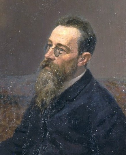 Nikolai Rimsky-Korsakov is mainly known for his symphonic works, especially the popular symphonic suite Sheherazade. He left an oeuvre that also included operas, chamber works, and songs. His music demonstrates  brilliant orchestrations. His operas are masterful musical evocations of myths and legends. Born in 1844, he studied the piano as a child but chose a naval career in 1856. He continued piano lessons. In 1859, he started working with a French pianist through whom he met Balakirev.