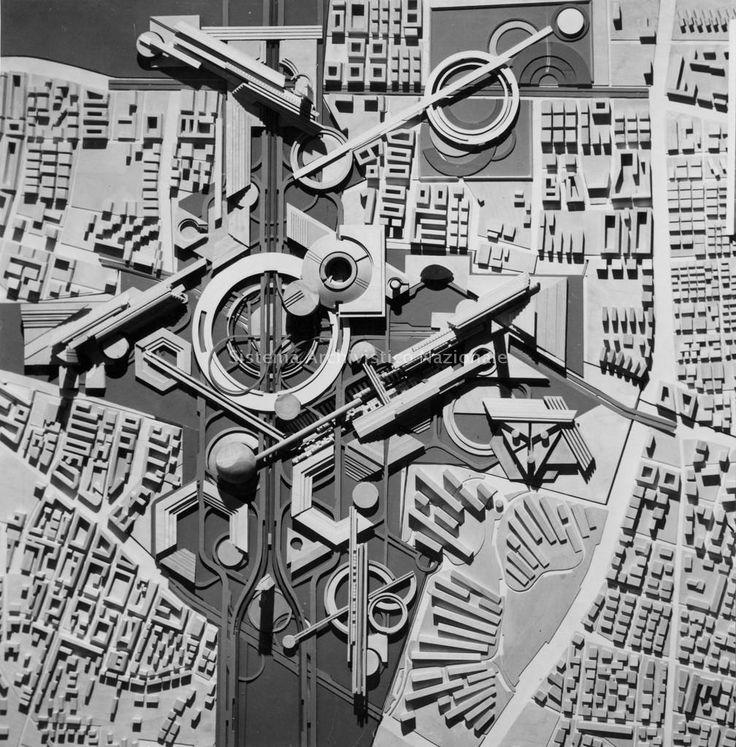 "Бруно Зеви И Студия Асс | ""Эже Equipado"" (Асс Attrezzato) | Рим, Италия | 1970"