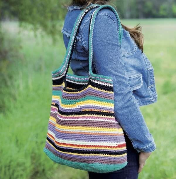 Crochet Bag in Adina Cotton - Rellana Pattern