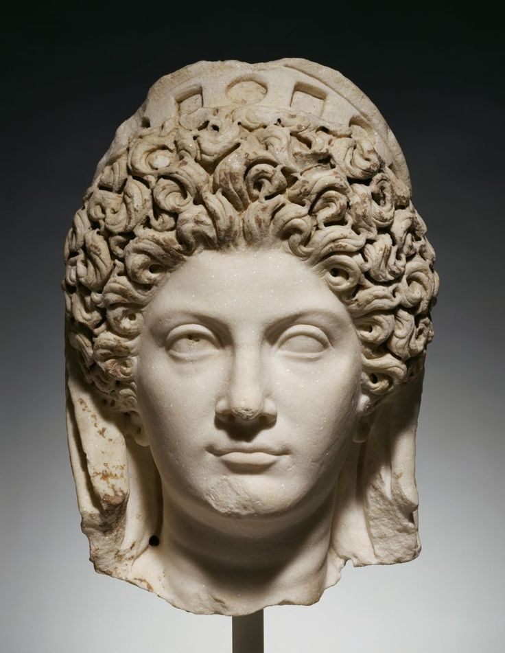 """Julia Titi, daughter of the Emperor Titus and, so Domitian-baiters would have it, her uncle's mistress. She died in AD91."""