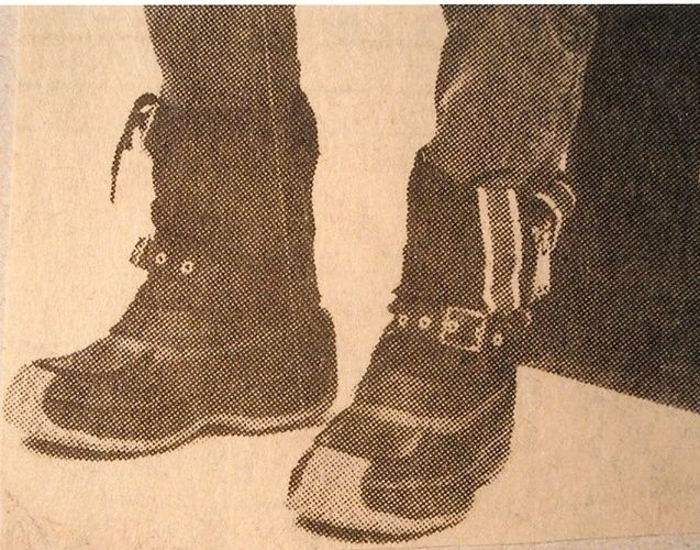 Snowmobile boots think we all had🤣1970-tal