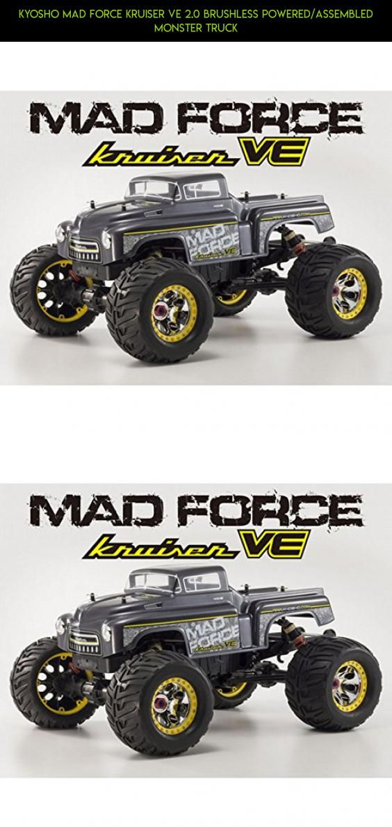 Kyosho MAD FORCE KRUISER VE 2.0 Brushless Powered/Assembled Monster Truck #technology #plans #kyosho #products #shopping #fpv #drone #kt-231p #parts #kit #gadgets #racing #tech #camera