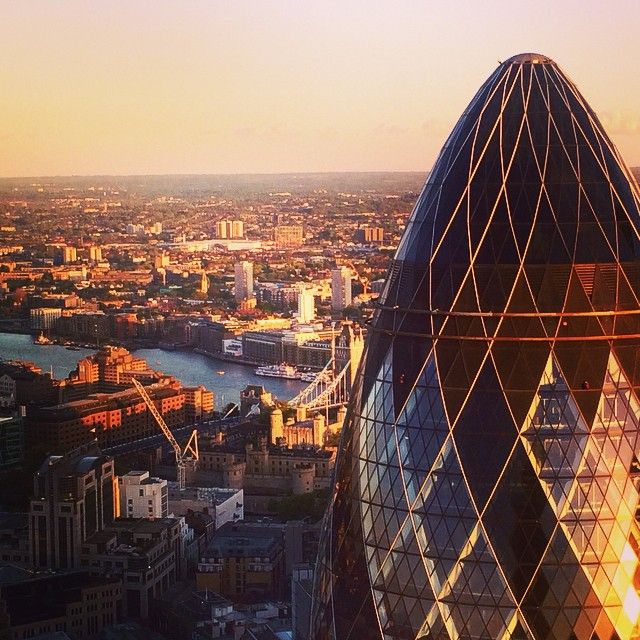 Those #sunsets from a #skybar will never dissapoint #london #sushisamba #uk
