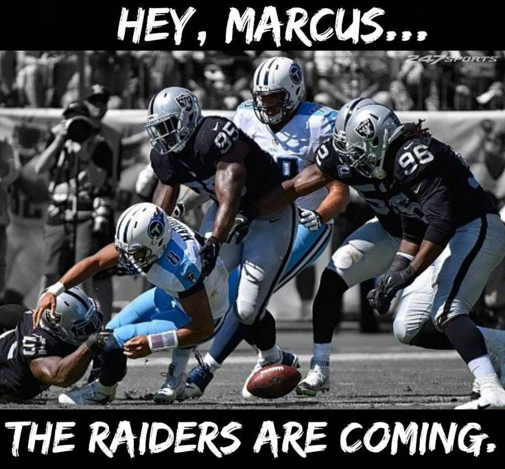 Marcus Mariota isn't ready for The Oakland Raiders!