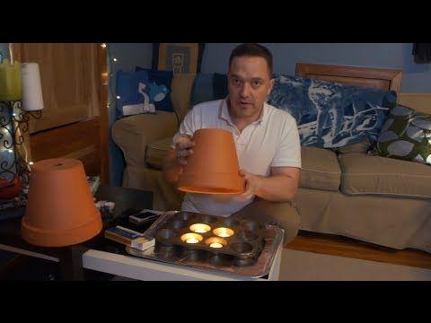 Jak ogrzać pomieszczenie przy użyciu tylko Tea Lights & Doniczki
