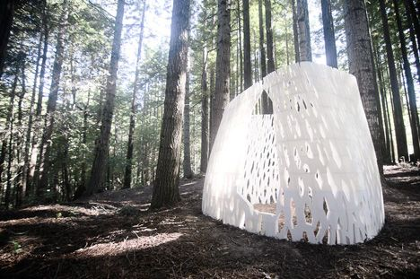 California studio Smith|Allen has completed the world's first architectural structure using standard 3D printers