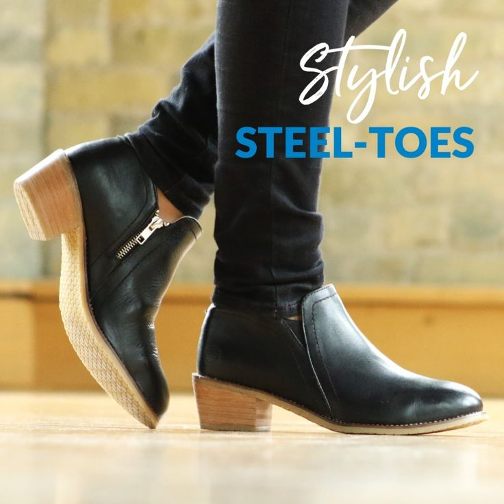 Firstever stylish steeltoe shoes for women that are astm