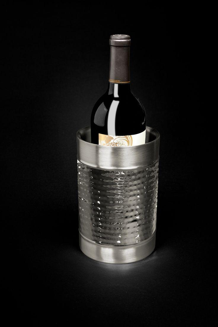 best  wine chiller bucket ideas on pinterest  rustic  - hammered wine coolerwine chillerdouble walled wine bucket