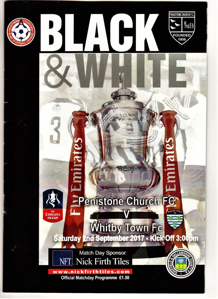 Penistone Church 3 Whitby Town 2 FA Cup 2017