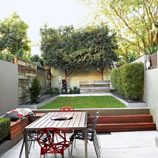 Tiered Contemporary Urban Garden: 17 Best Images About Courtyard Garden On Pinterest