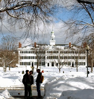Dartmouth College: I am going there today to see my son Craig race in the Dartmouth Carnival.