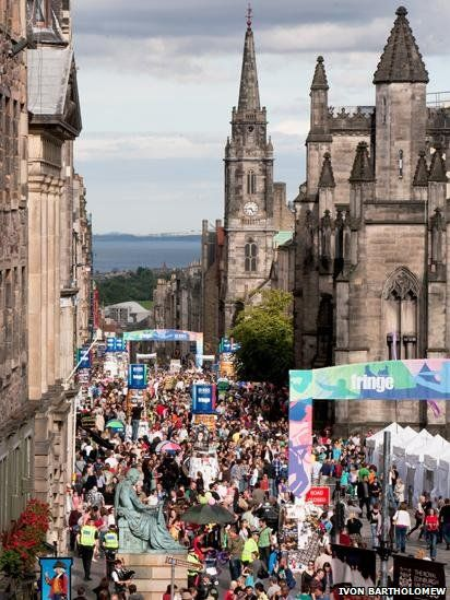Another reason that I want to go back to Edinburgh - The Fringe Festival