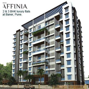 Gera Affinia - 2 & 3 BHK luxury condos & duplexes by Gera Developers at Baner, Pune. To know more Visit : http://www.puneproperties.com/gera-affinia-luxury-flats-baner.html #PuneProperties #FlatsinPune #ApartmentsinPune #FlatsinBaner