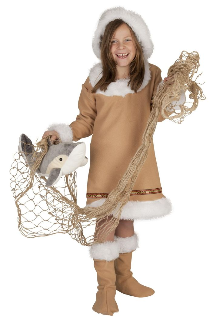 Kostüm - Eskimo, 3-teilig, für Kinder