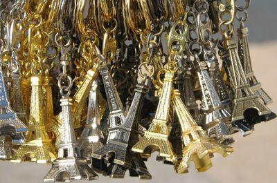 Eiffel tower key rings