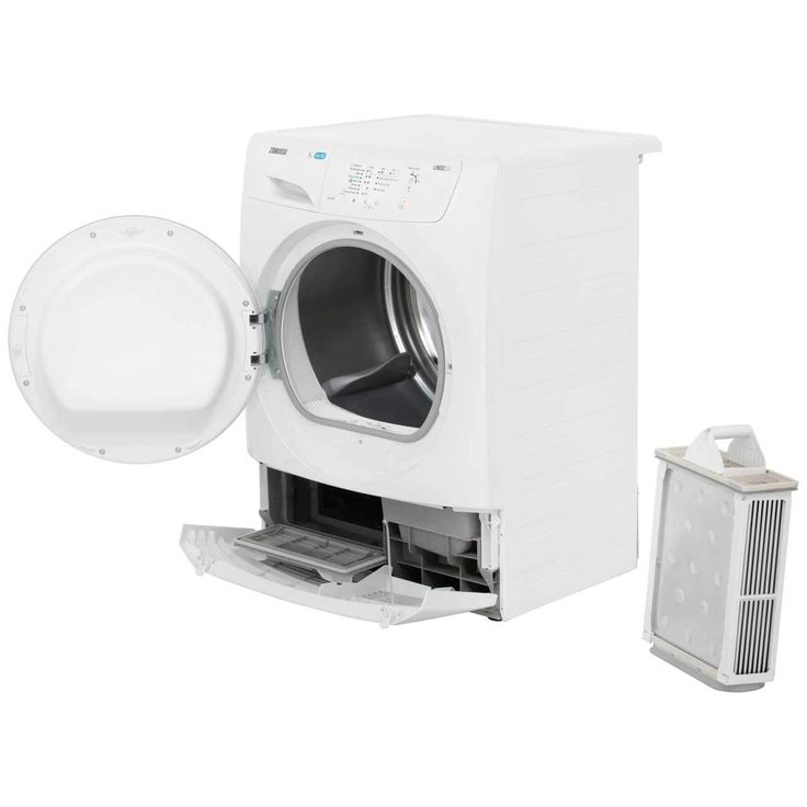 Zanussi ZDP7205PZ Condenser Tumble Dryer - White