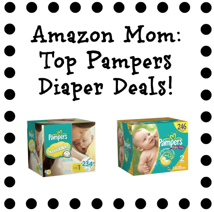 Amazon Mom: Top Pampers Diaper Deals (Size 1 diapers for 13 cents each!)