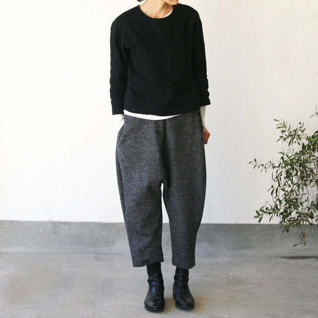 I like these trousers, although I have a feeling they would look ridiculous on me