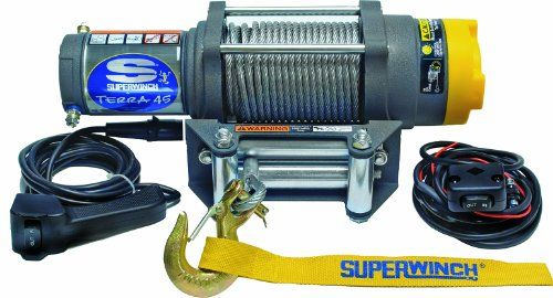 ATV Winches - Superwinch 1145220 Terra 45 ATV & Utility Winch (4500lbs/2046kg Rating)