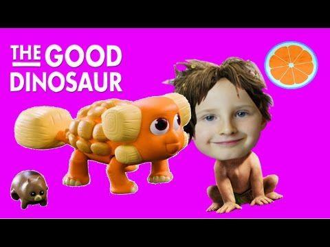 THE GOOD DINOSAUR VIVIAN toy review and Kinder Joy. Blue Orange