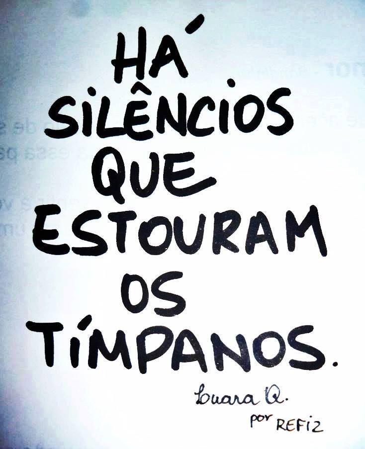 SILÊNCIOS #frases