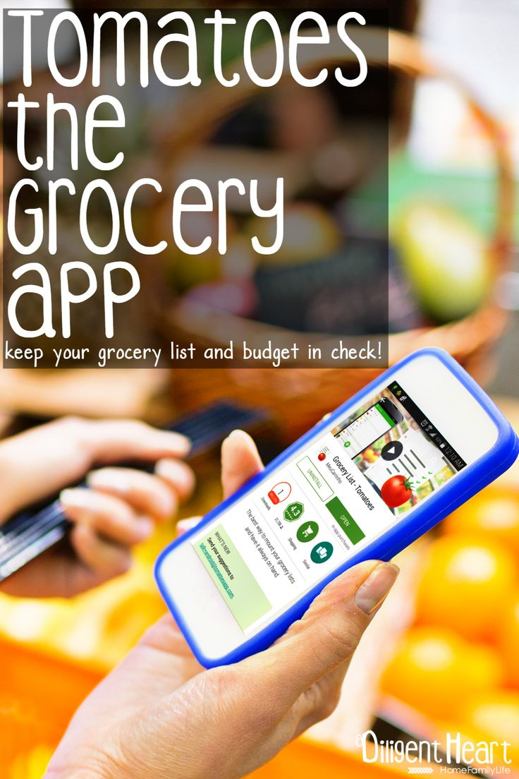 Need help staying on top of your grocery budget? This app will not only help you do that but it will store your custom pricing! Which means, you can plan out futures grocery trips budget before even heading to the store! Check out Tomatoes the Grocery App | adiligentheart.com