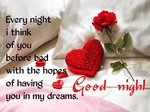 Good night sweetheart!!!...::)
